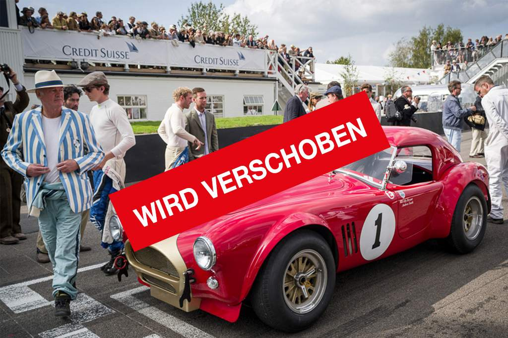 Goodwood - Festival of Speed. Wird verschoben.